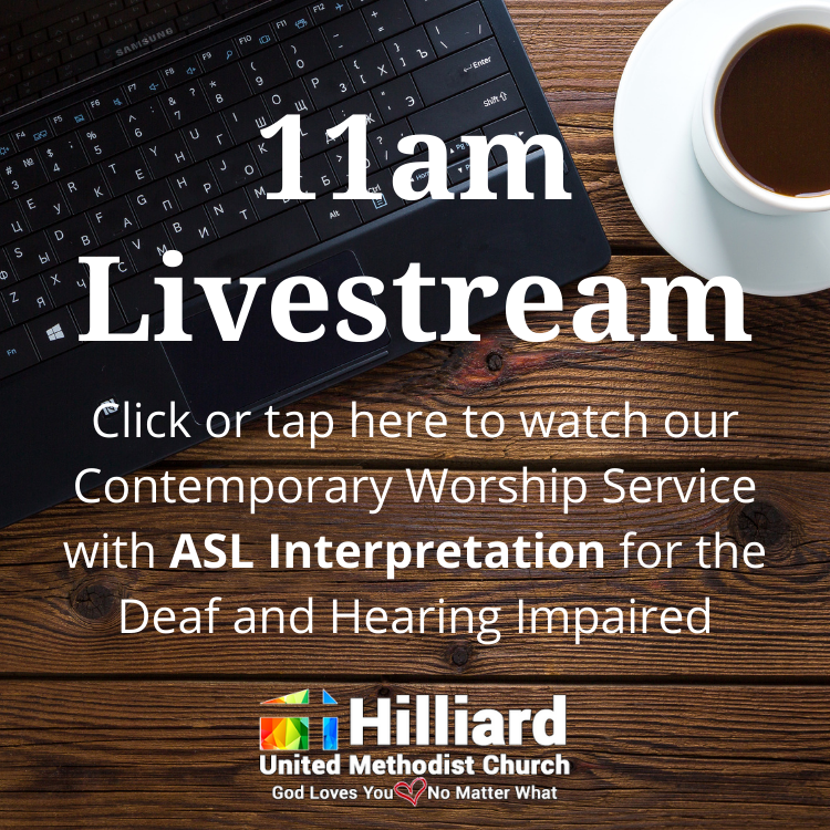 9am traditional worship livestream, watch worship online, ASL interpreted for deaf and hard of hearing