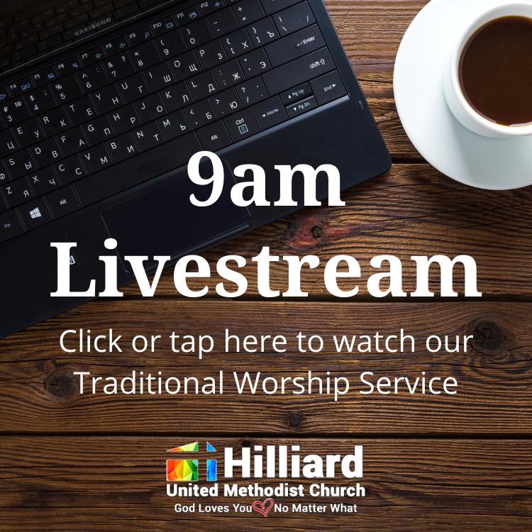 9am traditional worship livestream, watch worship online