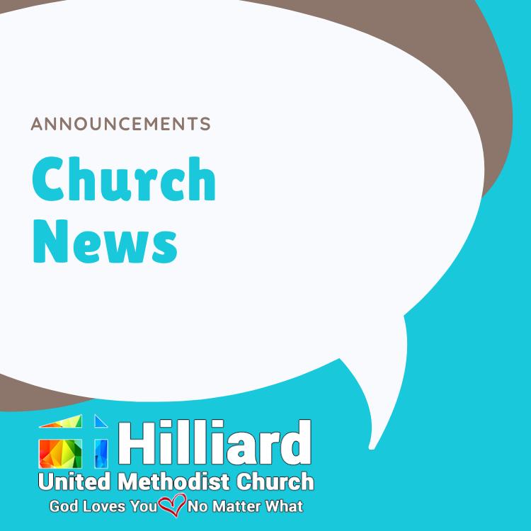 church news announcements