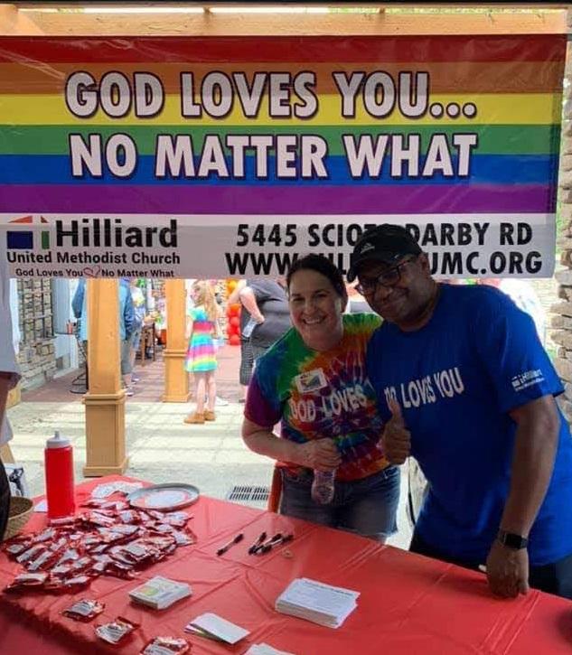 Hilliard Pride God loves you no matter what