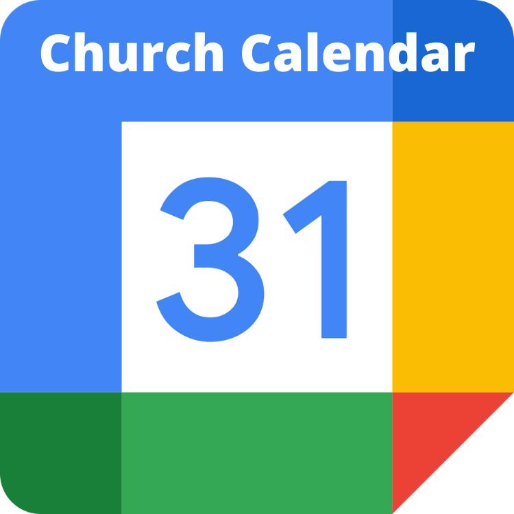 church calendar google