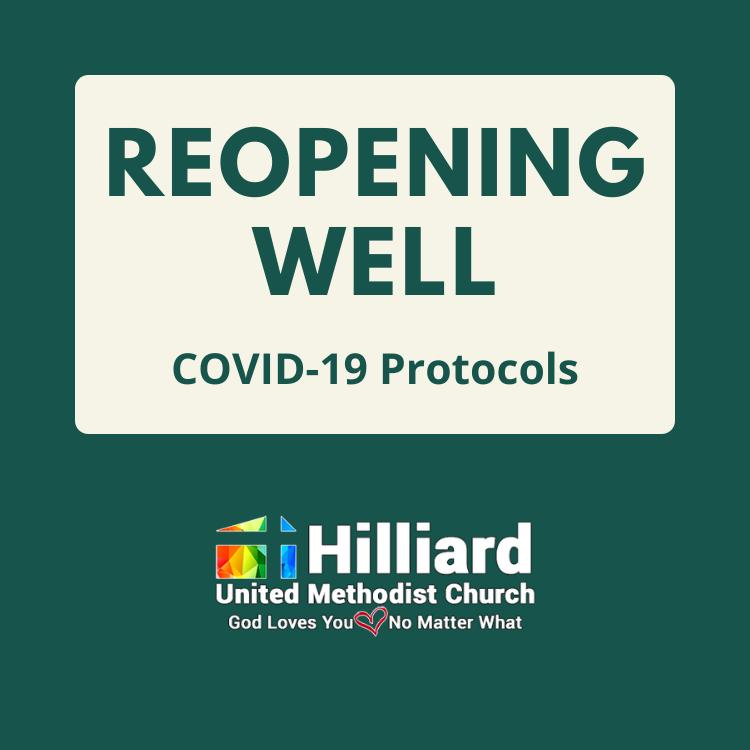 reopening well covid-19 covid protocols coronavirus masks mask