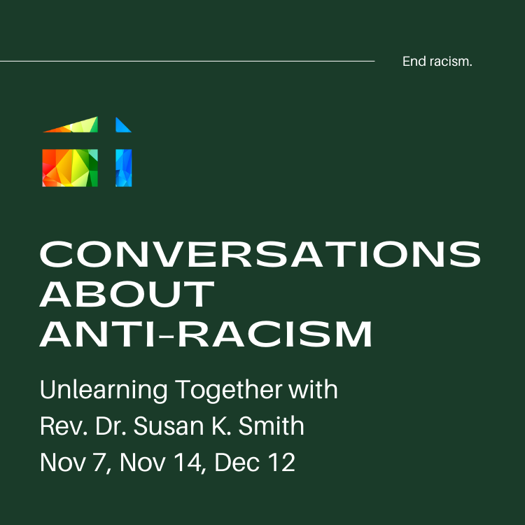 conversations about anti-racism Susan Smith unlearning together